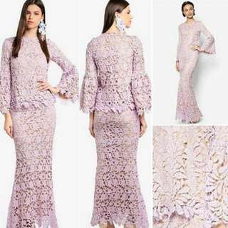 lubna kurung lace