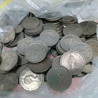 1979年l元 123個