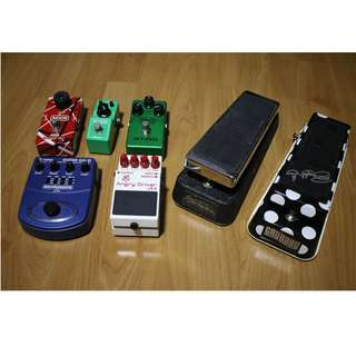 Guitar Pedal Clearance