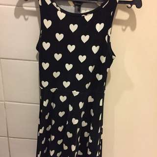 F21 Heart Mini Dress