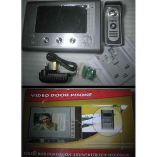 Video Door Phone . Doorbell Intercom with Camera and 7-inch Monitor