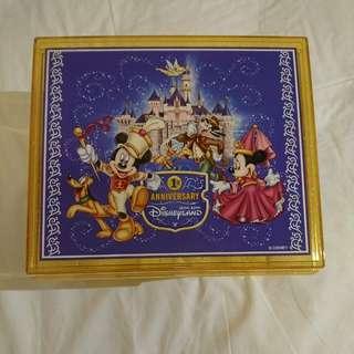 Disneyland hk 1st anniversary box