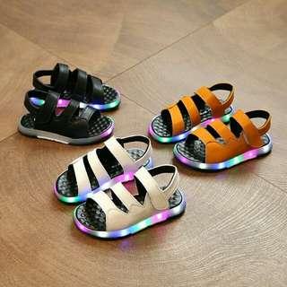Shoes sendal led
