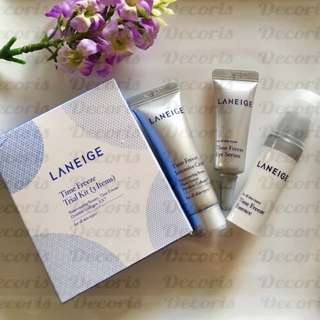 Laneige Time Freeze Kit