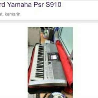 Keyboard PSR S910