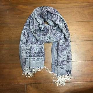 長方形薄圍巾