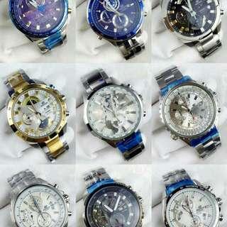 Casio EDIFICE手錶 (由於只能發送四張照片,更多型號請私聊查詢)