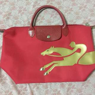 Longchamp Shoulder Bag Red (Original)