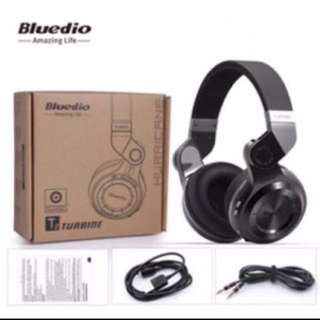 Ready stock! Branded.Bluedio T2+ Plus TOP Clear Sound Quality Wireless Bluetooth ( Upgraded To Latest Bluetooth V4.1) Stereo Headphones With Microphone Headset Support TF Carid, FM Radio Function At $65.00(Retail: $145.00)🎧🎧