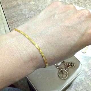 21k saudi gold bracelet