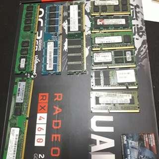 RAM ddr2 laptop & desktop 1GB