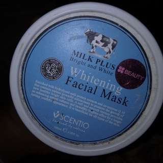 Milk plus (whitening facial mask)