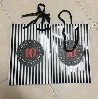 TAKE ALL FOR RM18! Thomas Sabo Paper bag