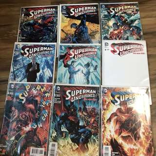 Superman Unchained 1-9 Complete