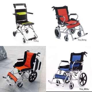 Manual attendant propelled wheelchair (pushchair)