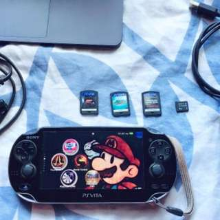 Psvita for sale with free