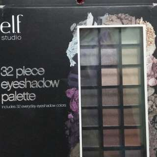 Elf 32 piece eyeshadow pallete