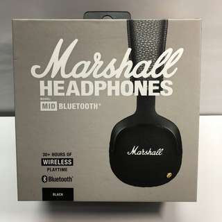 全新行貨 Marshall MID Bluetooth Headphones