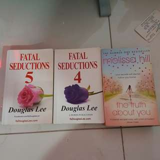 Fatal seduction and Melissa hills book
