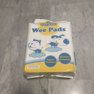 Pee pad 2 packs $18 each