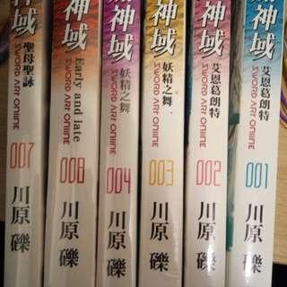 刀劍神域 輕小說