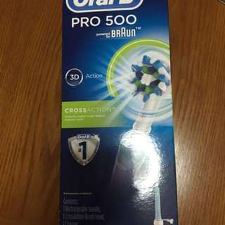 Oral-B Power Rechargeable Toothbrush 500 PRO