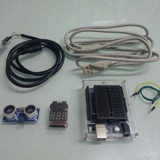 Uno,電池測試器,超馨波定位,升級線
