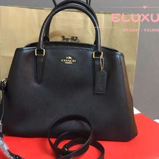 Coach Margot in black original