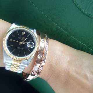 Rolex oyster perpetual date - th 96. Authentic