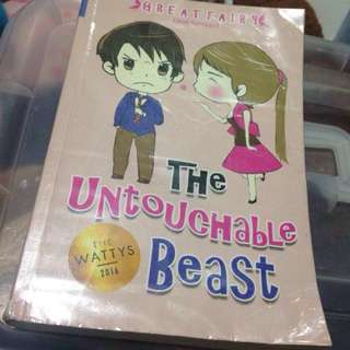 Wattpad Book: The Untouchable Beast