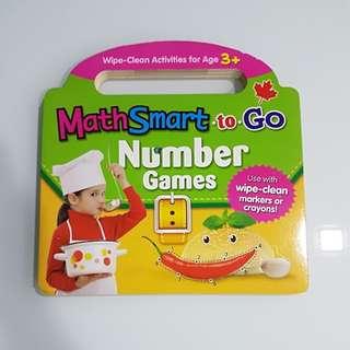 Maths Wipe Clean Activity Book