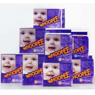 Whoopee Premium Diapers (Taped)