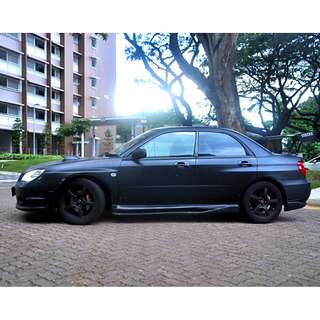 Subaru WRX for rent!