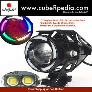 Transformers U7 Angel / Devil Eye Cree Single / Dual LED Light