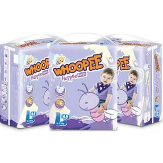 Whoopee Premium Quality Diapers (Pull-up/Pants)