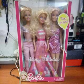 Barbie dolls 3 character