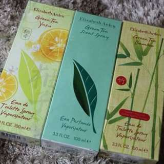 Elizabeth Arden Green Tea Collections