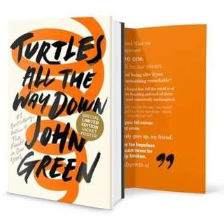 TURTLES ALL THE WAY DOWN (JOHN GREEN)