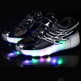 Kids LED and Roller shoes