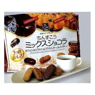 沖繩名品 珍品堂 綜合巧克力金楚糕26入裝   ~ 歡迎批發 ~