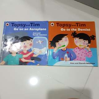 Topsy and Tim story books