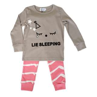 Lie Sleeping Stripey PJs By Petelulu (1 - 7Y)