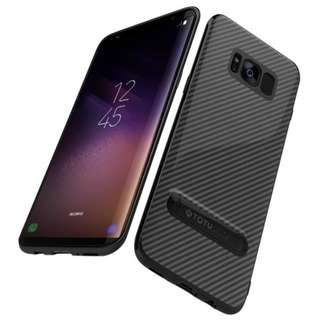 Carbon Fiber TPU Case for Samsung Galaxy S8 and S8 Plus