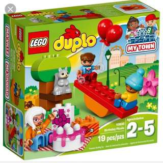 BNIB Lego Duplo Birthday Picnic 10832