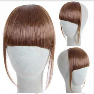 clip on bangs
