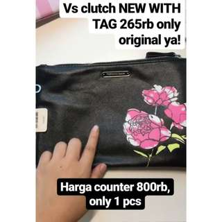 Sale only 1pcs VS clutch 100% new and authentic