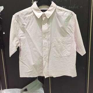 Cotton on crop striped shirt