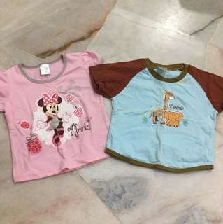 T shirt 2 Set 12-24month