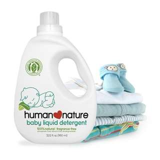 Baby Liquid Detergent 950ml by HUMAN❤NATURE