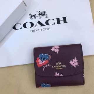 Original coach women ready Stock Wallet